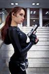 Lara Croft catsuit - Necronomicon 9