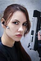 Lara Croft catsuit - Necronomicon 7 by TanyaCroft