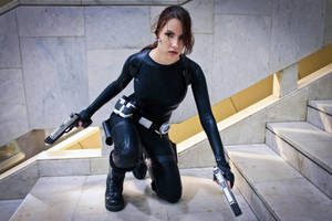 Lara Croft catsuit - Necronomicon 6 by TanyaCroft