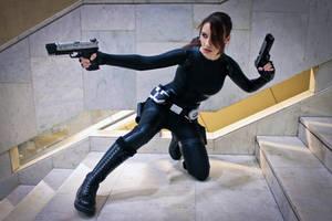 Lara Croft catsuit - Necronomicon 4 by TanyaCroft