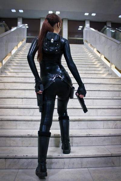 Lara Croft catsuit - Necronomicon 3 by TanyaCroft
