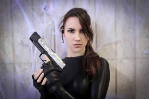 Lara Croft catsuit - Necronomicon 2 by TanyaCroft