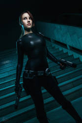 Lara Croft catsuit - Necronomicon 11 by TanyaCroft
