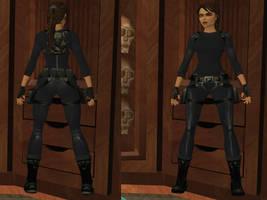 Lara Croft: catsuit
