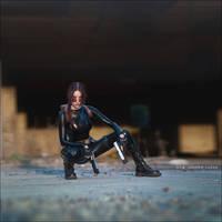 Lara Croft cosplay - catsuit improvisation 2 by TanyaCroft