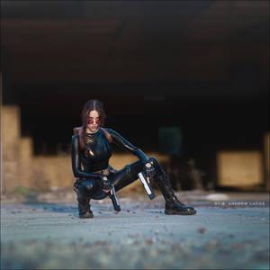 Lara Croft cosplay - catsuit improvisation 2