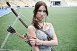 Lara Croft cosplay - WeGame 1 by TanyaCroft