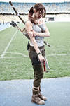 Lara Croft cosplay - WeGame 8