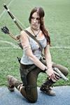 Lara Croft cosplay - WeGame 7