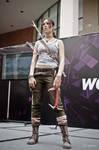 Lara Croft cosplay - WeGame 10