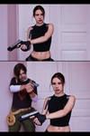 Tomb Raider AoD - Lara meets Kurtis