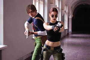 Tomb Raider AoD - good team
