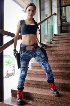 Lara Croft cosplay - ComicCon'16 1