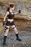 Lara Croft Underworld - on the coast