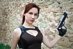 Lara Croft Underworld - smile