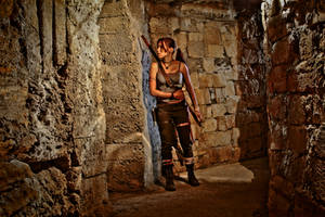 Lara Croft REBORN cosplay - oversee by TanyaCroft