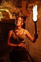 Lara Croft REBORN cosplay - alone by TanyaCroft