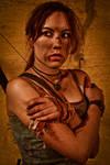 Lara Croft REBORN cosplay - cold