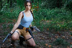 Lara Croft CLASSIC cosplay - WeGame 2 by TanyaCroft