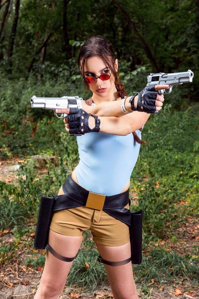 Lara Croft CLASSIC cosplay - WeGame 2-1 by TanyaCroft