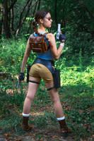 Lara Croft CLASSIC cosplay - WeGame 2-3 by TanyaCroft