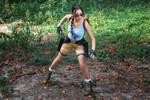 Lara Croft CLASSIC cosplay - WeGame 2-4