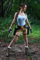 Lara Croft CLASSIC cosplay - WeGame 2-5 by TanyaCroft
