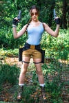 Lara Croft CLASSIC cosplay - WeGame 2-7 by TanyaCroft