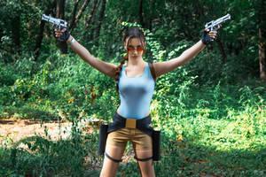 Lara Croft CLASSIC cosplay - WeGame 2-8 by TanyaCroft