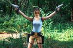 Lara Croft CLASSIC cosplay - WeGame 2-8