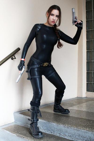 Tomb Raider Anniversary catsuit 1 by TanyaCroft