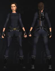 Lara Croft: Catsuit by TanyaCroft
