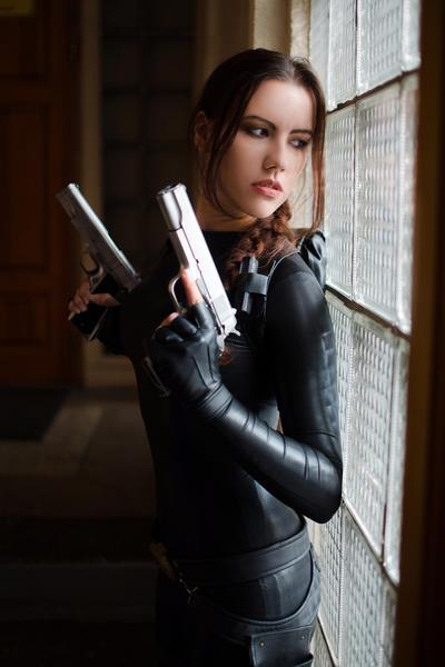 Tomb Raider Anniversary catsuit 2 by TanyaCroft