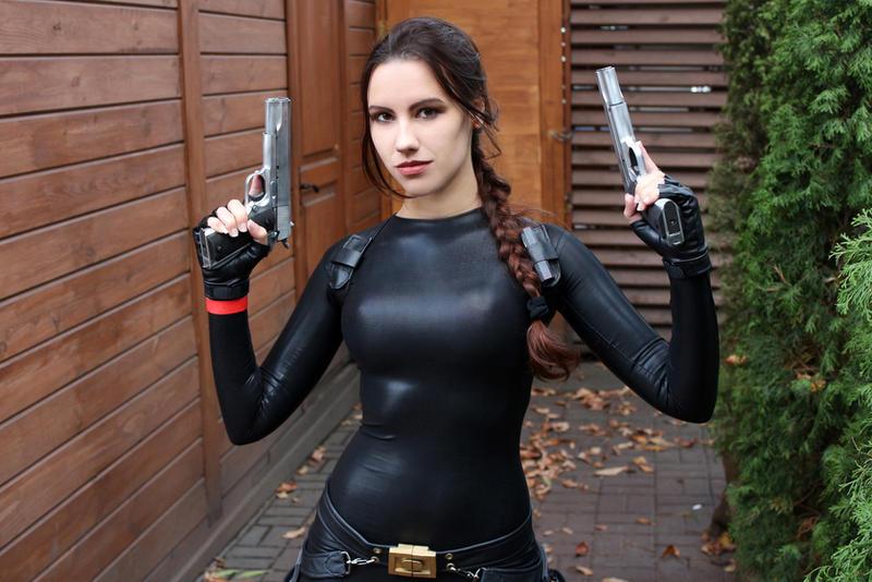 Tomb Raider Anniversary catsuit 4 by TanyaCroft