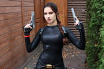 Tomb Raider Anniversary catsuit 4 by TanyaCroft