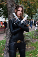 Tomb Raider Anniversary catsuit 5 by TanyaCroft