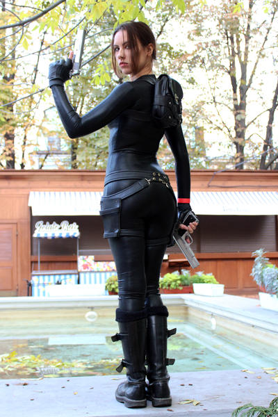 Tomb Raider Anniversary catsuit 6 by TanyaCroft