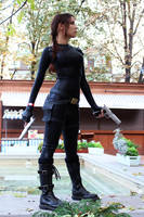 Tomb Raider Anniversary catsuit 7 by TanyaCroft