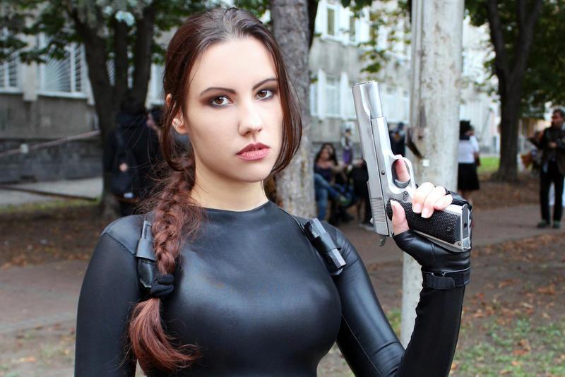 Tomb Raider Anniversary catsuit 9 by TanyaCroft