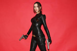 Tomb Raider Anniversary catsuit 11 by TanyaCroft
