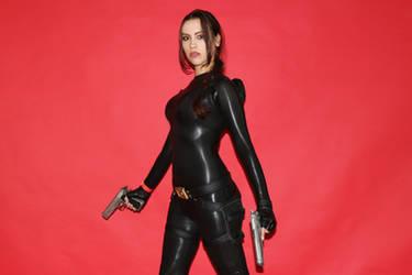 Tomb Raider Anniversary catsuit 11 by TanyaCroft