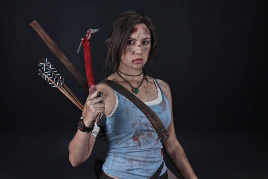 Lara Croft REBORN cosplay - studio 3