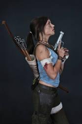 Lara Croft REBORN cosplay - studio 5 by TanyaCroft