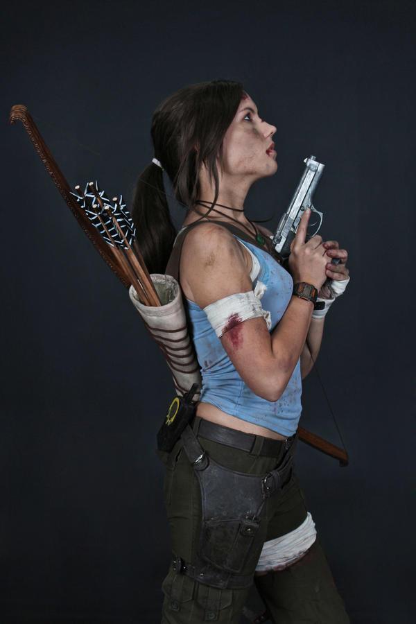 Lara Croft REBORN cosplay - studio 5