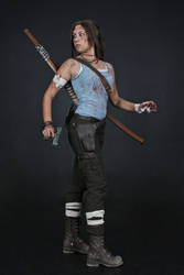 Lara Croft REBORN cosplay - studio 6