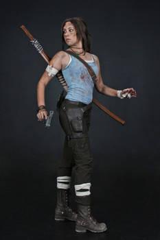Lara Croft REBORN cosplay - studio 6