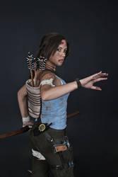 Lara Croft REBORN cosplay - studio 8 by TanyaCroft