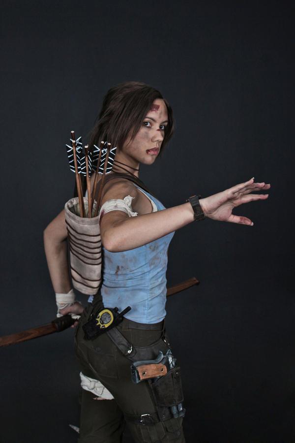 Lara Croft REBORN cosplay - studio 8