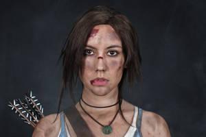 Lara Croft REBORN cosplay - studio 12