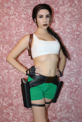 15th anniversary of my Lara Croft cosplay - 2